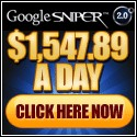 Google Sniper - The Record Breaker. #1 Converter & Avg $/sale!