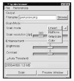 Xscanimage - Linux Performance - Halo Linux Services